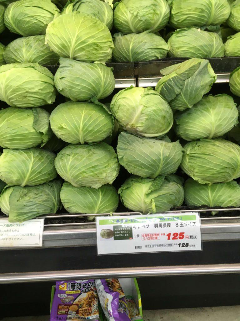 オーケーストアの野菜は鮮度も良い