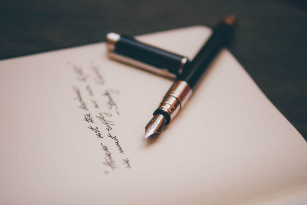 忘れてはいけない感謝の手紙